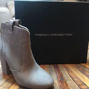 "French Connection ""Libby"" suede ankle boots"